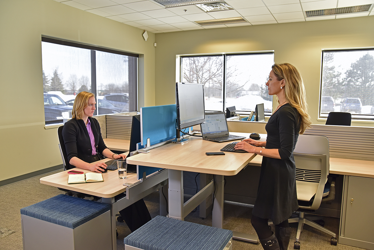 Three Facts About Sit Stand Office Workstations Humantech
