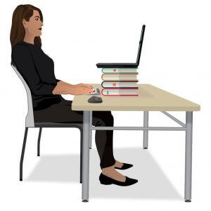 Home Office Ergonomics Adjustment