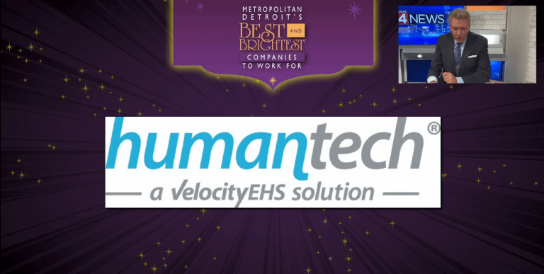 Humantech Named One of the Best and Brightest Companies to Work For® in Metropolitan Detroit article image