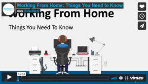 OnDemand Webinar - Working From Home Title Page