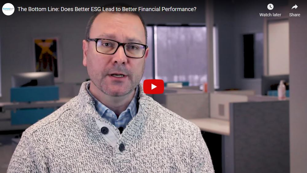 The Bottom Line: Does Better ESG Lead to Better Financial Performance? article image