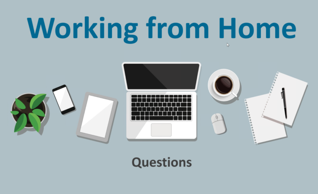 """Working from Home: Challenges, Benefits and ROI"" Webinar Summary article image"
