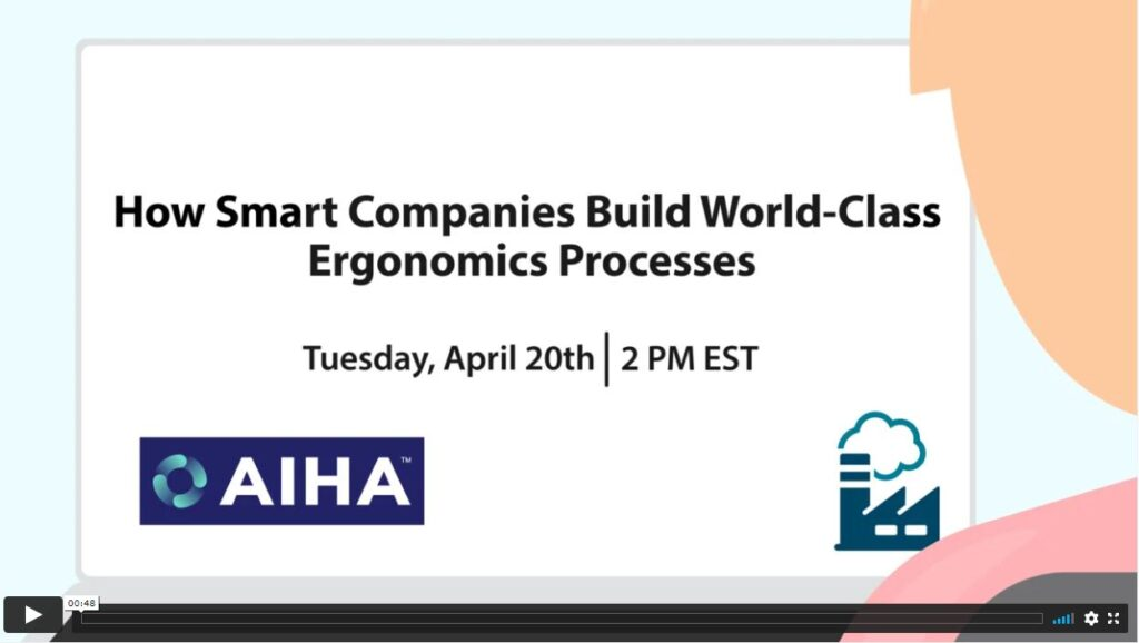 AIHA Product Demo: How Smart Companies Build World-Class Ergonomics Processes article image