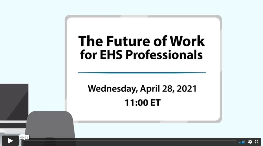 Webinar: The Future of Work for EHS Professionals article image